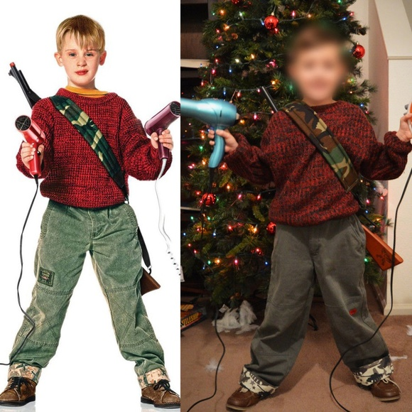 Home Alone Kevin Halloween Costume Youth Small 8